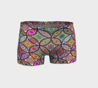 Vibrant Mandalas Shorts preview