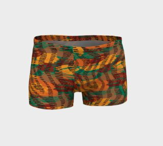 Abstract Animal Stripes Shorts preview