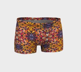 Amber Kaleidoscope Shorts preview
