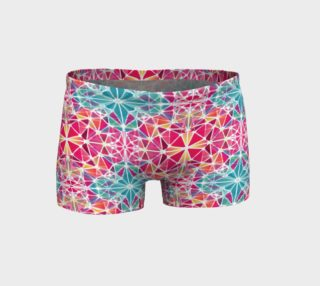 Pink and Blue Kaleidoscope Shorts preview