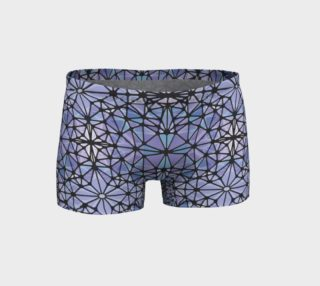 Purple and Blue Kaleidoscope Shorts preview