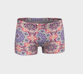 Purple and Pink Kaleidoscope Shorts preview