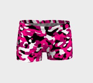 Aperçu de pink black and white cmaouflage