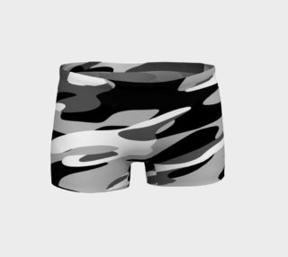 black and white camouflage preview