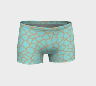 Aperçu de staklo (aqua/coffee) workout shorts