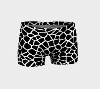 Aperçu de staklo (black/white) workout shorts