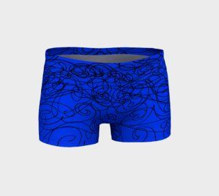 Vibrant Blue Graphite Shorts preview