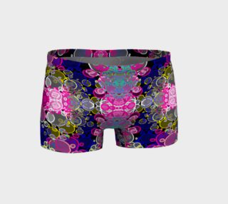Pink Craze Bubble Abstract Fitness Shorts  preview