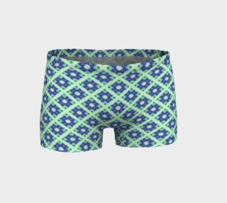 Blue Green Crisscross Pattern  preview