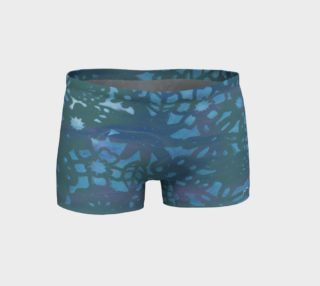 Blue Stencil Running Shorts preview