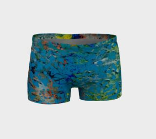 Blue Multi Shorts preview