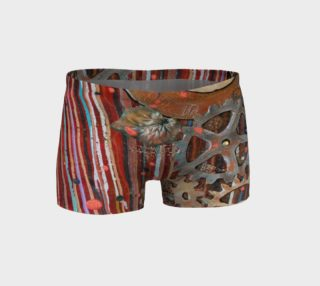 Aperçu de Red Clockwork Shorts