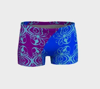 Bright Flower Blue Short preview
