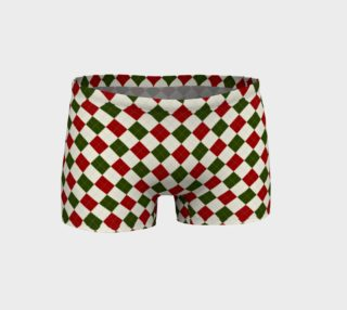 Christmas Argyle Shorts preview