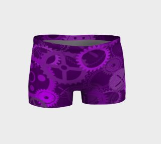 Purple Steampunk Shorts preview