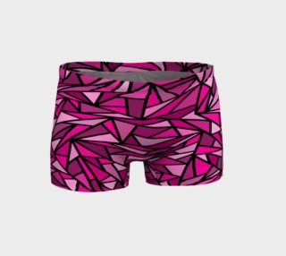 Pink Abstract Shorts preview
