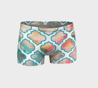 Moroccan trellis shorts preview