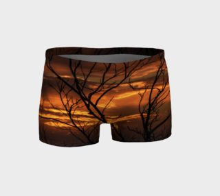 Firery Nights Running Shorts preview