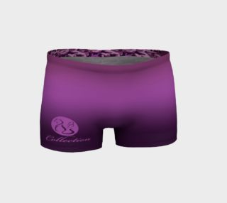 Aperçu de Platinum P Collection Workout Shorts Purple Camo