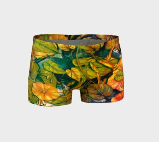 shorts flowers  orange preview