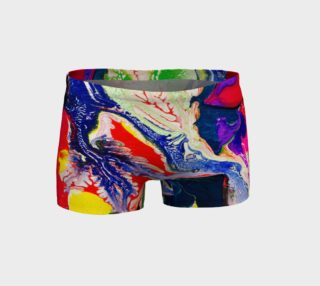 Psychedelic shorts preview