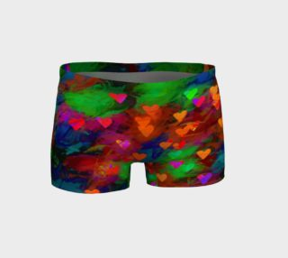 Wrapped in Painted Hearts Shorts preview