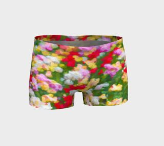 Painted Tulips Shorts preview