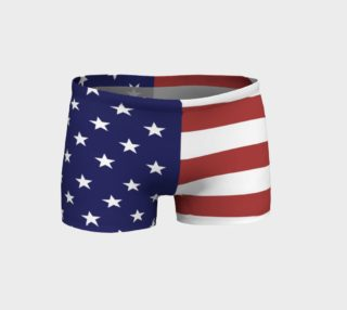 American Flag Shorts preview