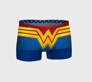 Wonder woman shorts preview