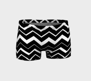 Zig Zag Black and White preview