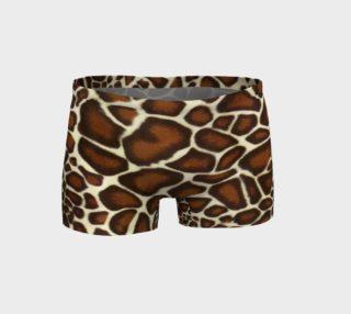 Giraffe Spots Shorts preview