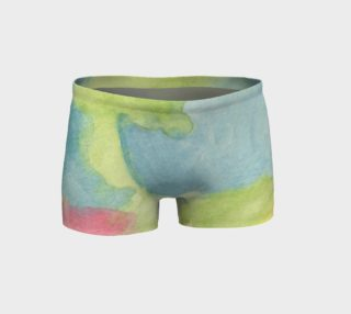 Flowers in Stained Glass Shorts preview
