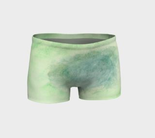 Green Dimension Flower Shorts preview