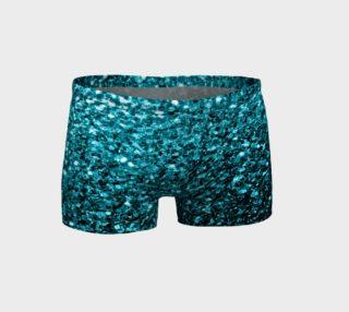 Beautiful Aqua blue glitter sparkles preview