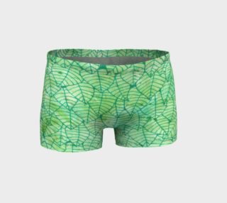 Aperçu de Green foliage Shorts