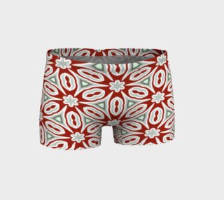 Red Grey and White Geometric preview