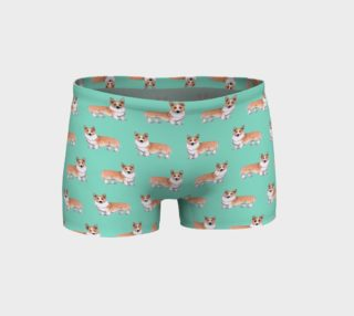 Aperçu de Welsh corgi dogs pattern Shorts