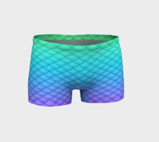 Mermaid Derby Shorts preview
