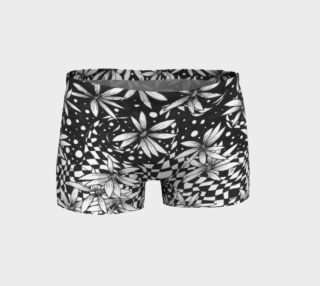 Geometric Floral Athletic Shorts preview