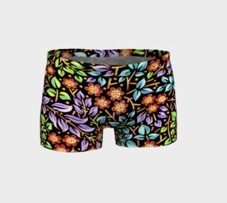 Filigree Floral Shorts preview