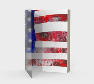 American Flag Grunge Effect preview
