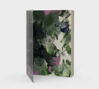 Pixie Flowers Spiral Notebook preview