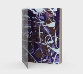 Dance of the Woodland Pixies Spiral Notebook preview
