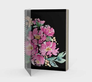 Aperçu de Painted Peonies Journal