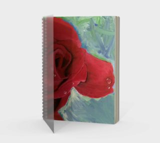 Morning Rose Notebook preview