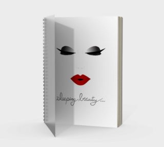 Sleeping Beauty Spiral Notebook preview
