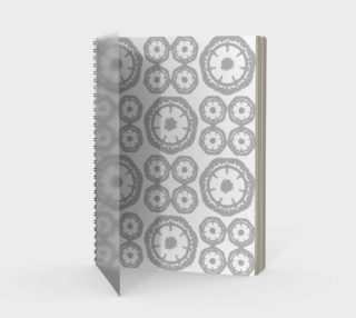 Gray Energy Spiral Notebook preview