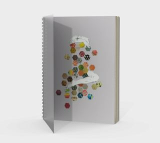 Honey Spiral Notebook preview