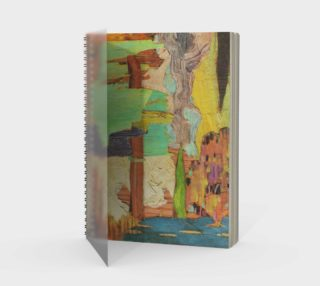 Reimagined Canadian Landscape Spiral Notebook preview