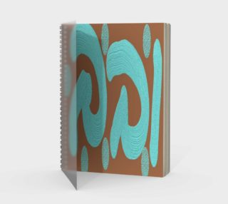 32 Turquoise brown preview